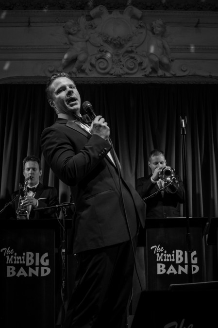 The Mini Big Band photo by Chris Lopez 02/01/16 Bush Hall London