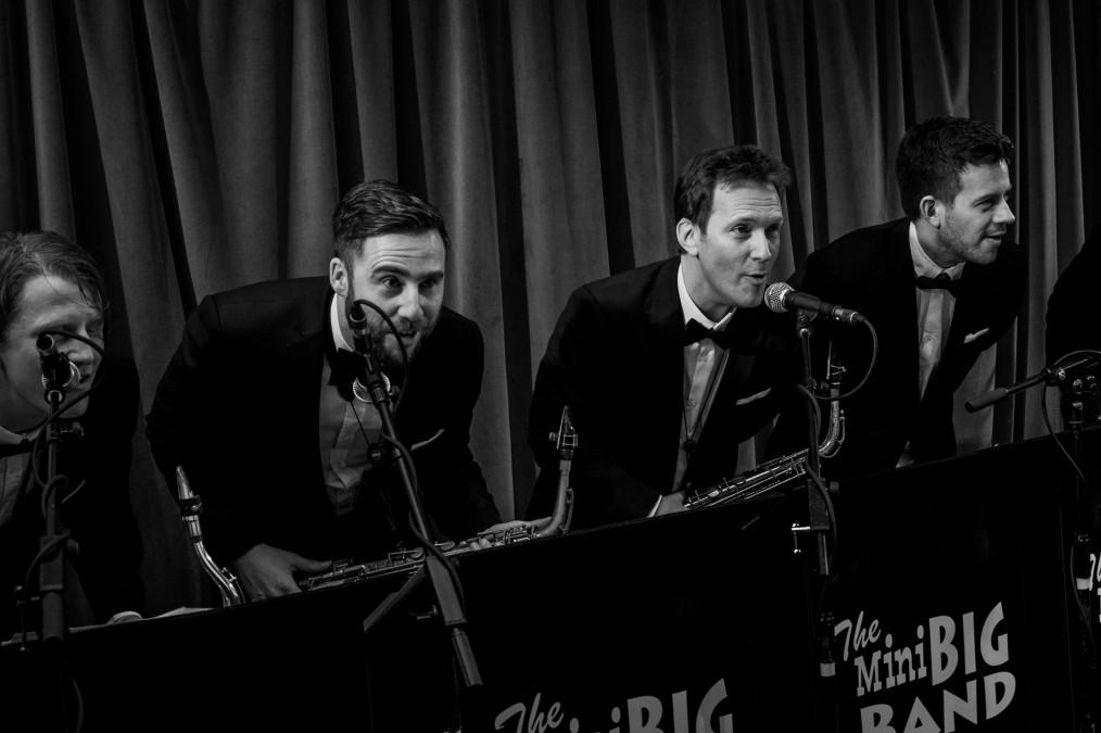 The Mini Big Band photo by Chris Lopez 02/01/16 Bush Hall London